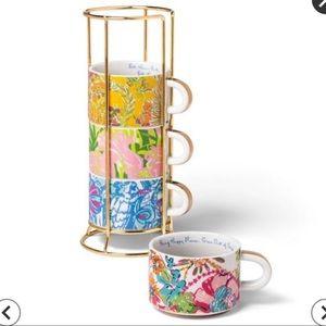 Lilly Pulitzer for Target Ceramic Mug set NWT